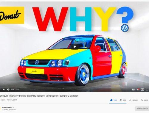 1996 VW Polo Harlequin
